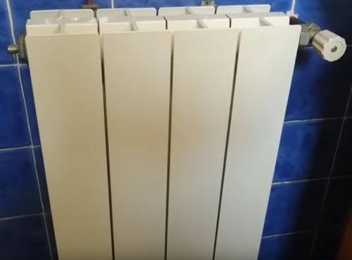 Sustitución de radiador